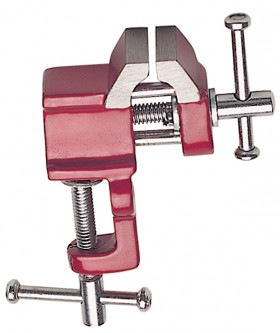 "Mini Clamp Type Vise w/ 1"" Jaws"