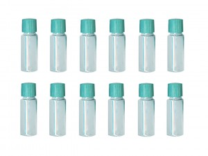 12 Pack of 2 oz Plastic Storage Vials