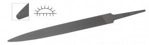 "Glardon® Vallorbe Swiss Half Round 6"" File Medium Cut #2 - LP1560"
