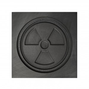Radiation Symbol 3D Mold - Medium