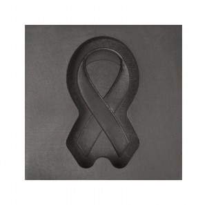 Memorial Ribbon 3D Mold - Medium