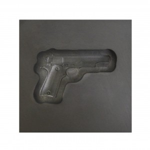Medium - Gun 3D Graphite Ingot Mold