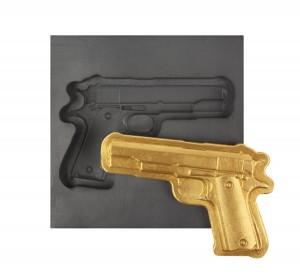 Gun 3D Mold- Large