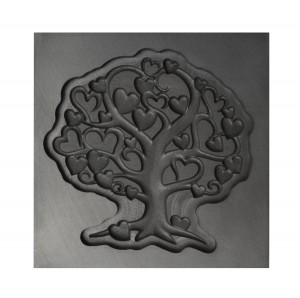 Tree of Love 3D Mold - Large