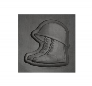 Helmet and Boots 3D Mold - Small