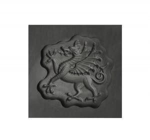 Flourish Dragon 3D Mold- Small