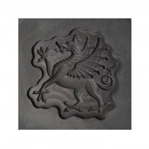 Flourish Dragon 3D Mold- Medium