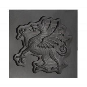 Flourish Dragon 3D Mold- Large