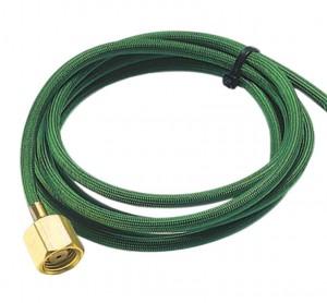 Smith 8' Oxygen Hose - Green Model 13254-2-8