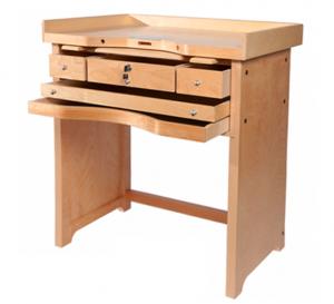 MC-Olympic Hardwood Jeweler's Workbench