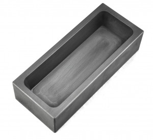 75 Troy Ounce Silver Graphite Ingot Mold