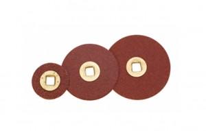 "ADALOX DISCS - BRASS CENTER 1/2"" COARSE - BX/600"