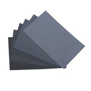 "9"" x 11"" 600 Grit Wet/Dry Sanding Paper - 10 Sheets"