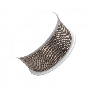 18 Gauge Antique Brass Artistic Wire Spool - 10 Yards