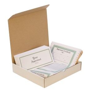 Appraisal Form Pack w/ 50 Envelopes and 50 Form/Certificates