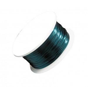 24 Gauge Aqua Artistic Wire Spool - 20 Yards