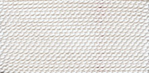 WHITE NYLON BEAD CORD #0 (priced per card, sold per pack of 10)