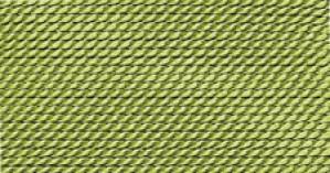JADE GREEN NYLON BEAD CORD #10
