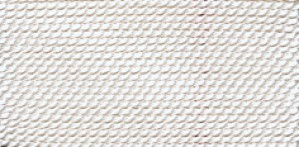 WHITE SILK BEAD CORD #1