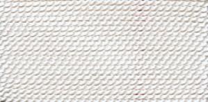 WHITE SILK BEAD CORD #6
