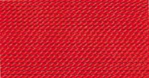 RED SILK BEAD CORD #1