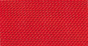 RED SILK BEAD CORD #6
