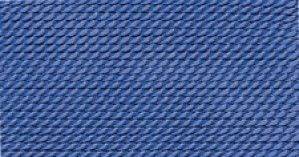 BLUE SILK BEAD CORD #1