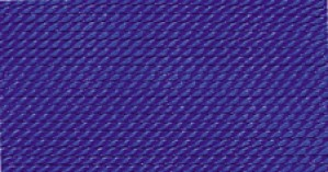 DARK BLUE SILK BEAD CORD #10