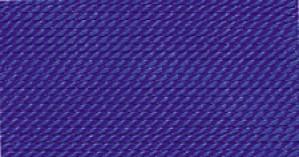 DARK BLUE SILK BEAD CORD #12