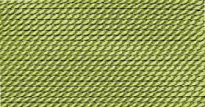 GREEN SILK BEAD CORD #0