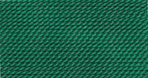 GREEN SILK BEAD CORD #7