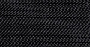 BLACK SILK BEAD CORD #8