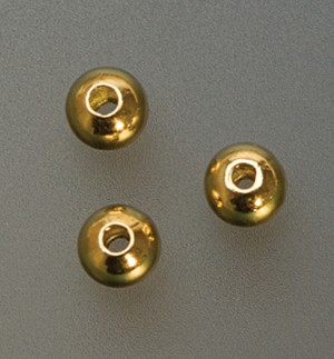 Pack of 1,000 Gold Plated Seamed Bead Crimp Covers - 4 mm