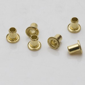 """Pack of 24 Brass Eyelets - 1/8"""""""