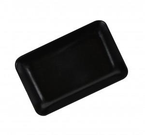 "4"" x 2-1/2"" Hollow Sorting Tray - Black"