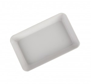 """4"""" x 2-1/2"""" Hollow Sorting Tray - White"""