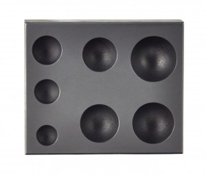 7-in-1 Sphere Marble Graphite Ingot Mold