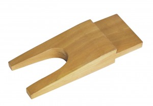 """6-1/4"""" x 2-5/8"""" Wooden Bench Pin"""