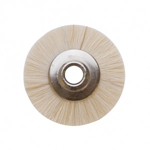 "1"" UNMOUNTED BRUSH, EXTRA SOFT, 1/8"" HOLE"