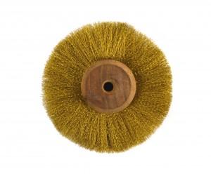 "4"" Circular Brass Brush"