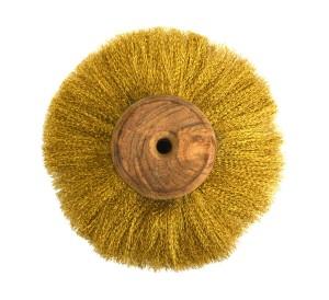 "6"" Circular Brass Brush"