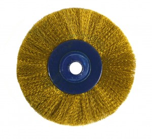 "2-1/2"" Circular Brass Brush"