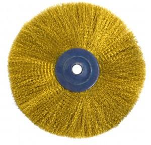 "3"" Circular Brass Brush"