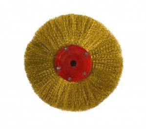 "4"" Circular Brush w/ Brass Bristles"