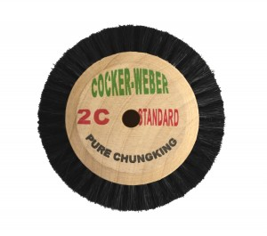Wooden Hub Brush - 2C Chungking Superior w/ 2 Rows