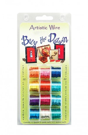 Pack of 12 Buy The Dozen Artistic Wire - 24 Gauge