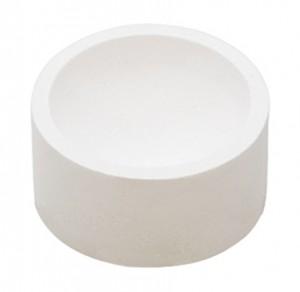 8 Oz High-Temp Ceramic Crucible for Melting Platinum