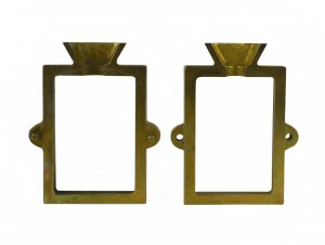 Anodized Steel 2-Piece Mold Flask Frame