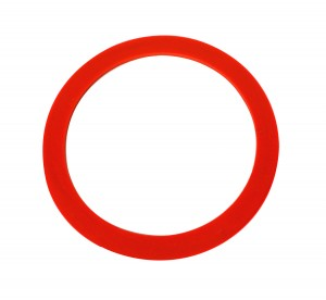 "3"" Red Silicone Ring"