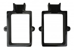 2-Piece Cast Iron Mold Flask Frame